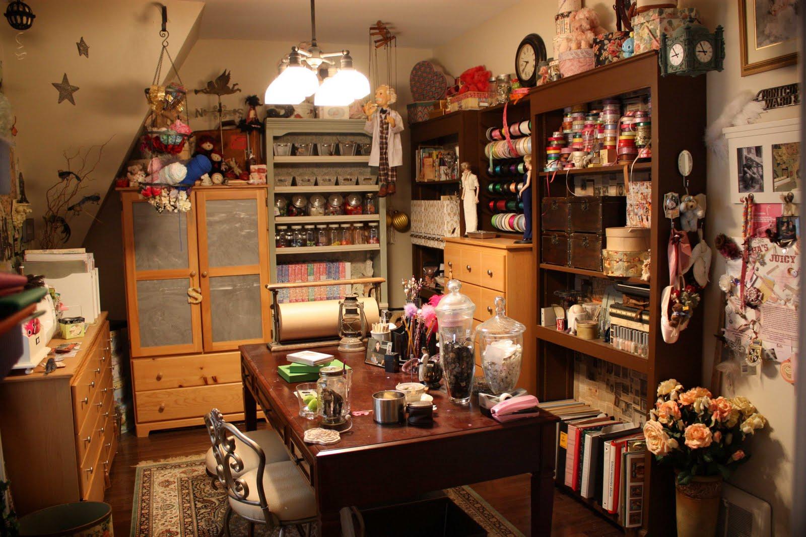 Craft Room Envy Spiral Owl S Create It Blog